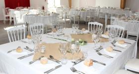 Les tables | Domaine du Bois de l'Arc