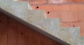 Domaine du Bois de l'Arc - l'escalier / janvier 2017